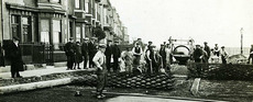 Hartlepool history then now for Alma terrace york
