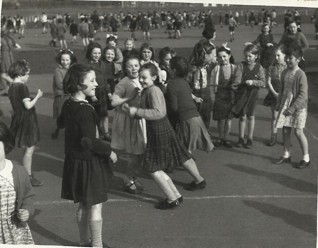 school life in the 1950s